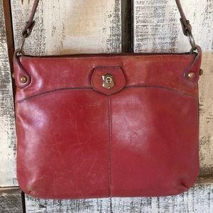 Etienne Aigner Vintage Burgundy Shoulder Bag 10x13